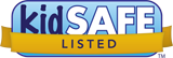 KIDO'Z Play Mode (mobile app) is certified by the kidSAFE Seal Program.