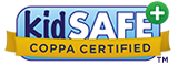 Studycat Fun App Series (English, Chinese, French, German, Spanish) is certified by the kidSAFE Seal Program.