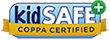 Hopster (mobile app) is certified by the kidSAFE Seal Program.
