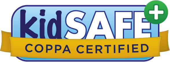 Pinna.fm web player (logged-in child area) is certified by the kidSAFE Seal Program.